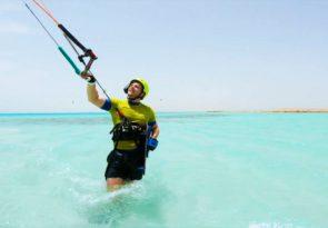 Makadi Bay beginner kitesurf course Learn kitesurfing in Egypt with Sick dog Surf