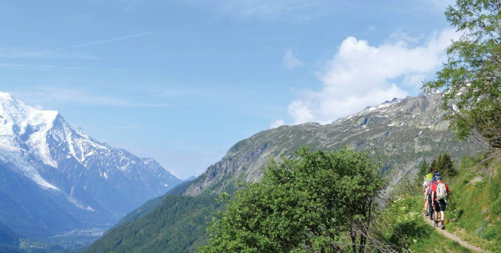 Guided Alps trekking holiday in France: Mont Blanc Circuit trek