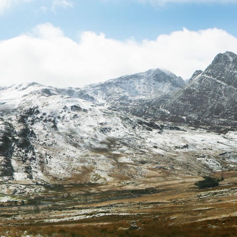 Snowdonia trekking adventure: 7 Summits winter trek in Wales