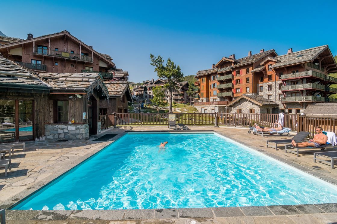 5* Arc 1950 self catered multi activity accommodation in France