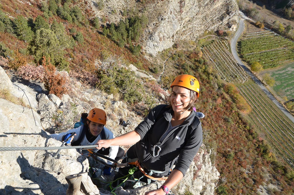 4 day French Alps via ferrata holiday in Gap, France