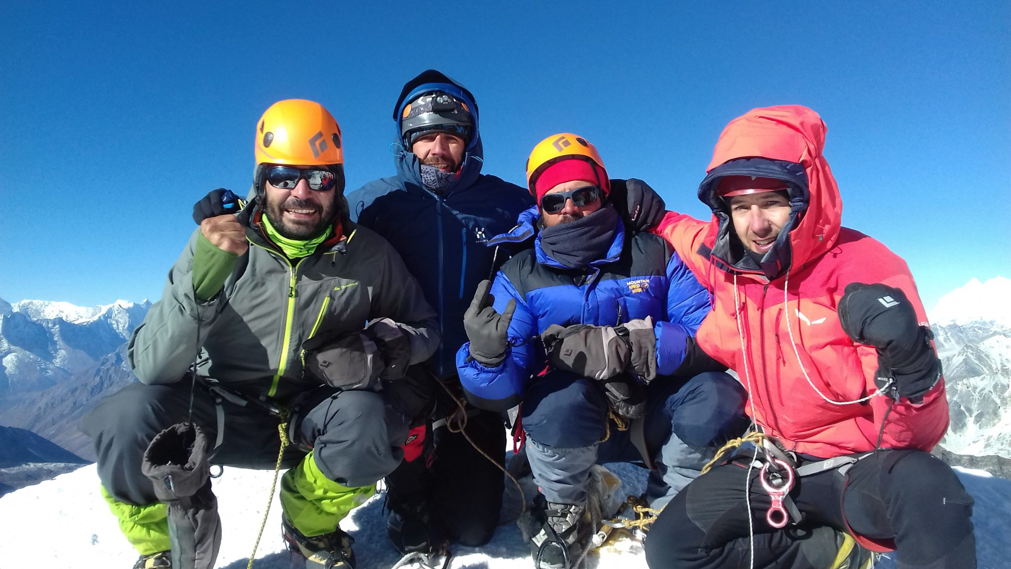 Climb Island Peak: Beginner mountaineering holiday in Nepal
