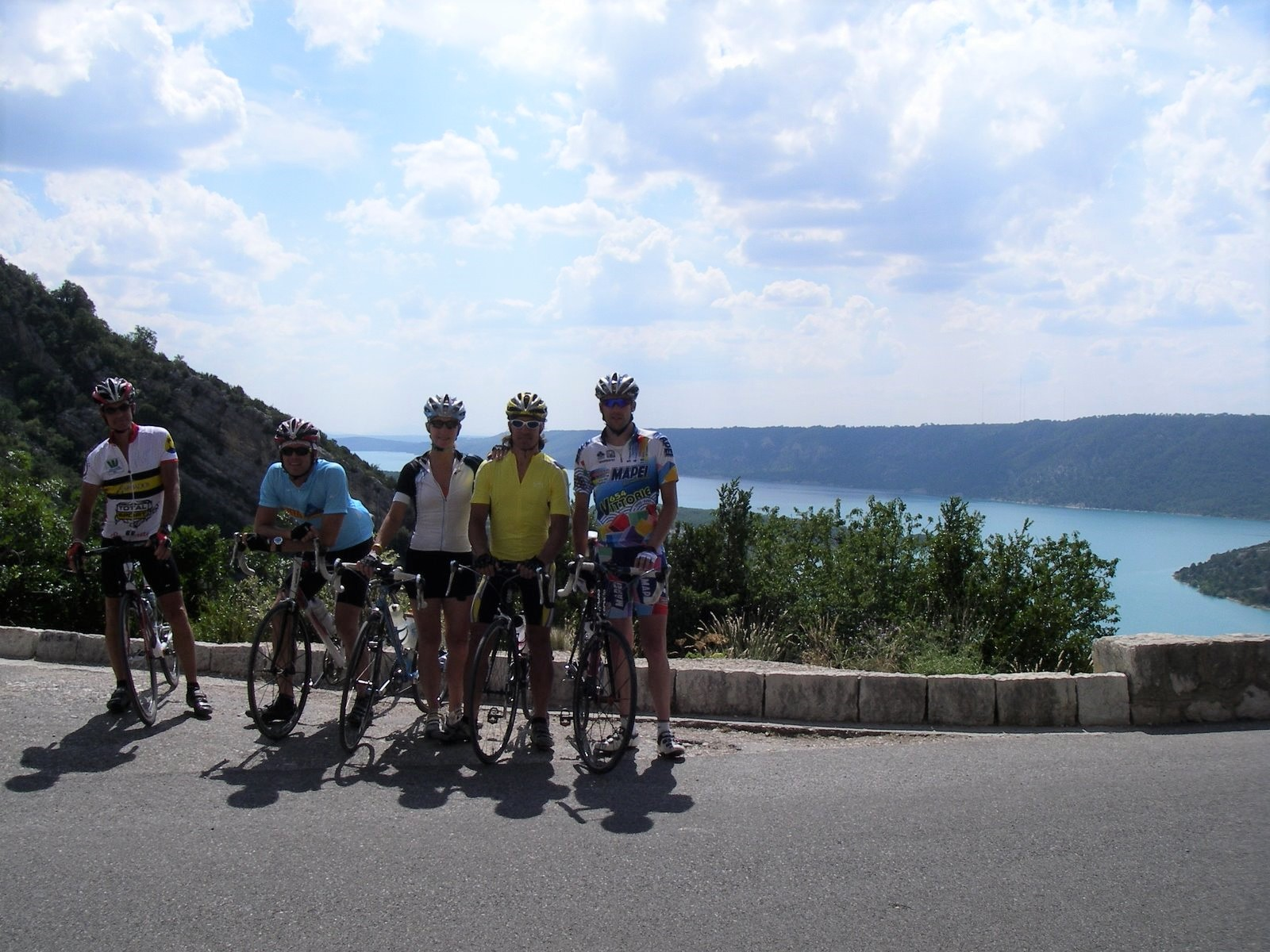 Provence road cycling holiday in France thru the lavender fields