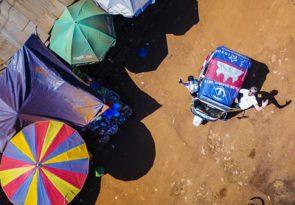 Indian rickshaw road trip - Tuk Tuk overlanding adventure in India