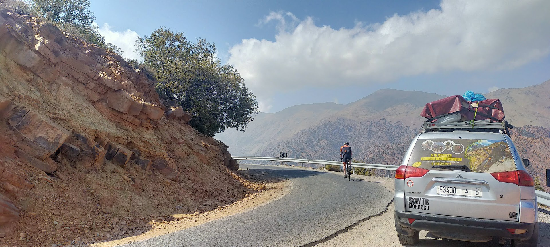 Grand tour cycling in Atlas Mountains: Morocco cycle holiday