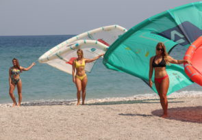 Greece kitesurfing holiday in Kremasti Bay