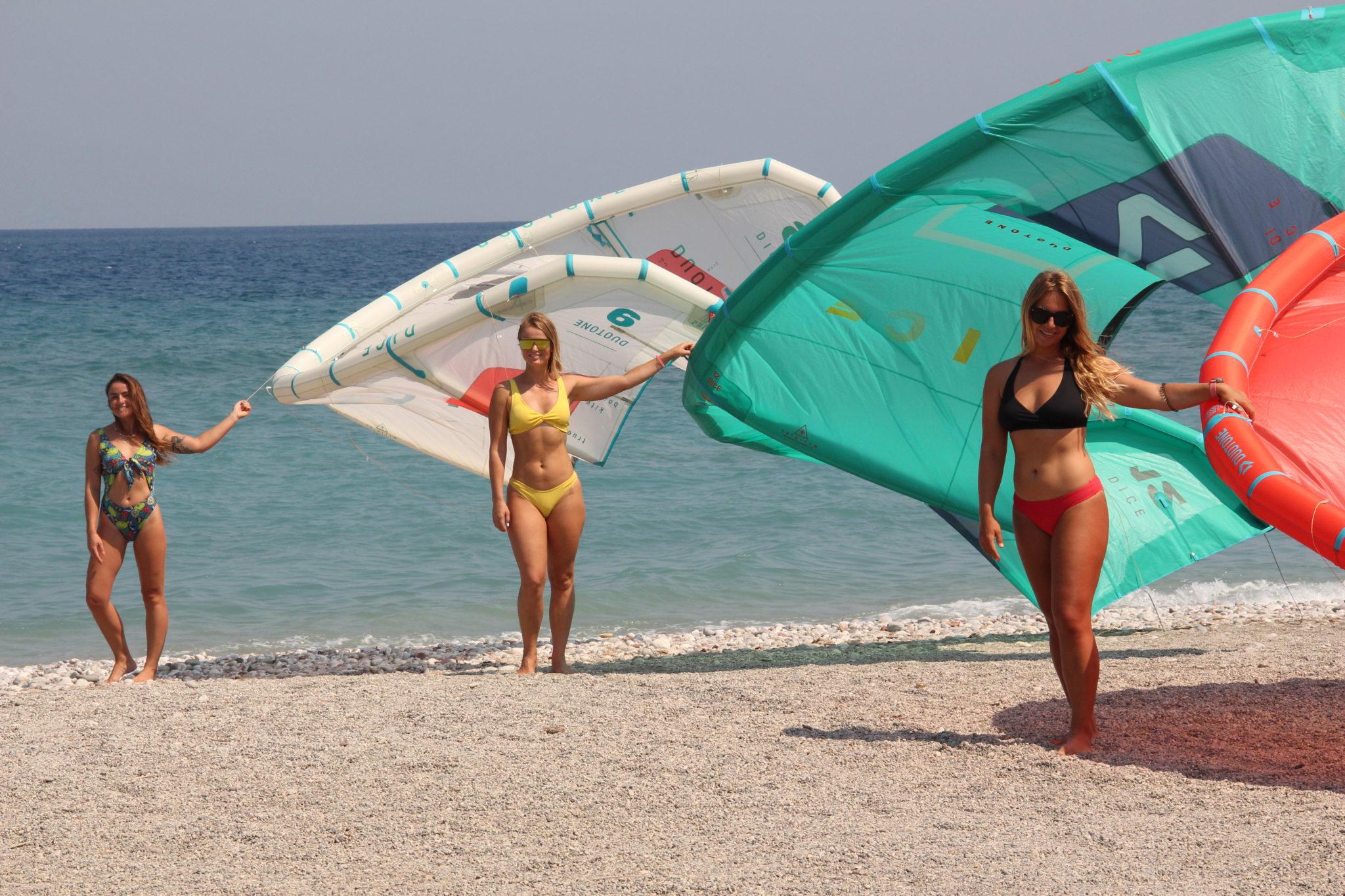 Greece kitesurfing holiday in Kremasti Bay: Kitesurf in Rhodes