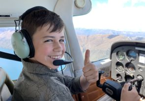 New Zealand aircraft flying experience