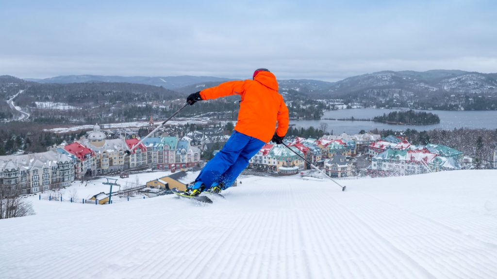Mont Tremblant the Best east Canada ski resort Image courtesy of Tremblant.ca