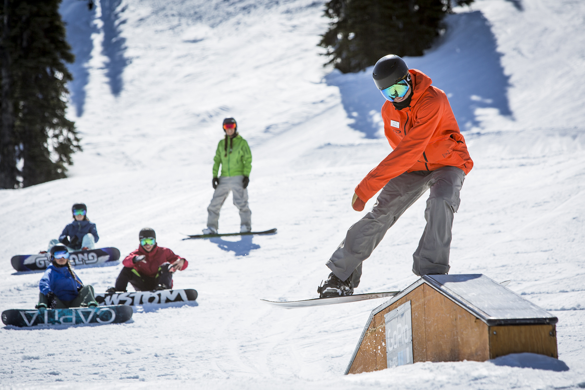 Freestyle snowboard camp in Canada: Whistler snowboarding holiday