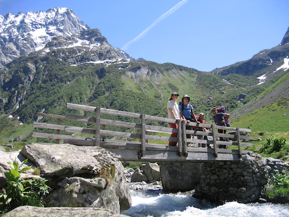 French Alps gourmet alpine hiking holiday in Ecrins National Park