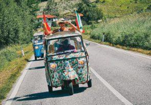 Northern Italy overlanding adventure - Italian Tuk Tuk road trip