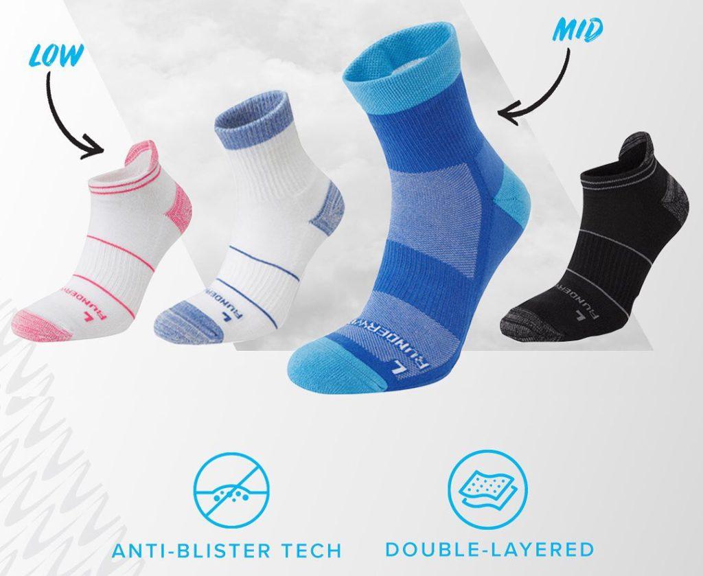Women's Runderwear review of socks