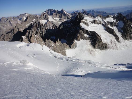 3 day French Alps mountaineering holiday: Climb Dome des Ecrins