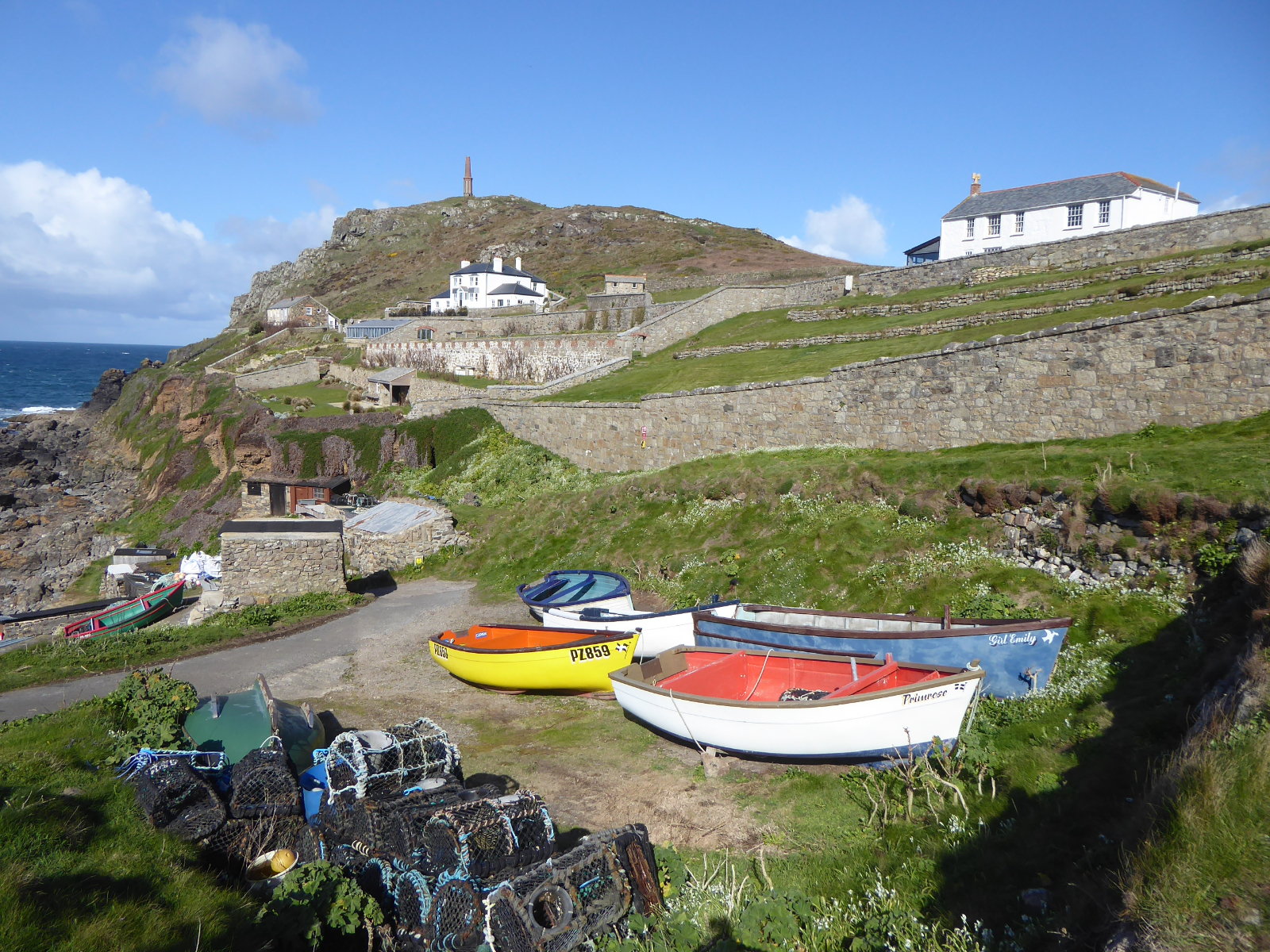 9 day guided Cornwall walking holiday and culture tour in England