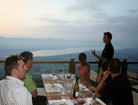 Geneva multi activity day trip up Mont Salève for sunset dinner
