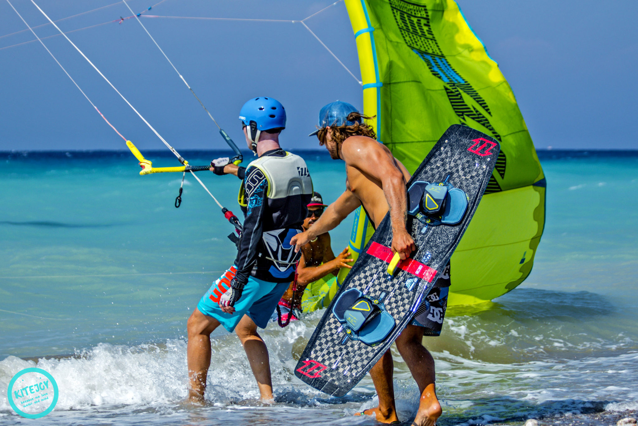 Rhodes kitesurf course in Kremasti: Greece kitesurfing lessons