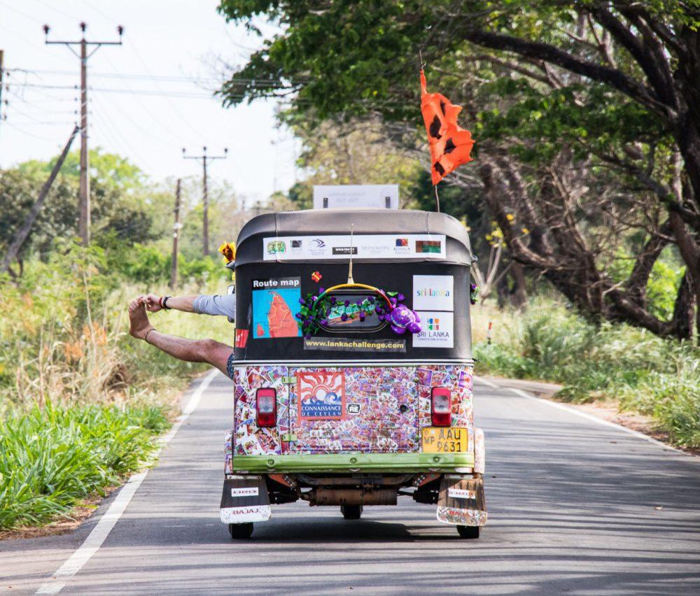 Central Ceylon rickshaw adventure: Sri Lanka overlanding holiday