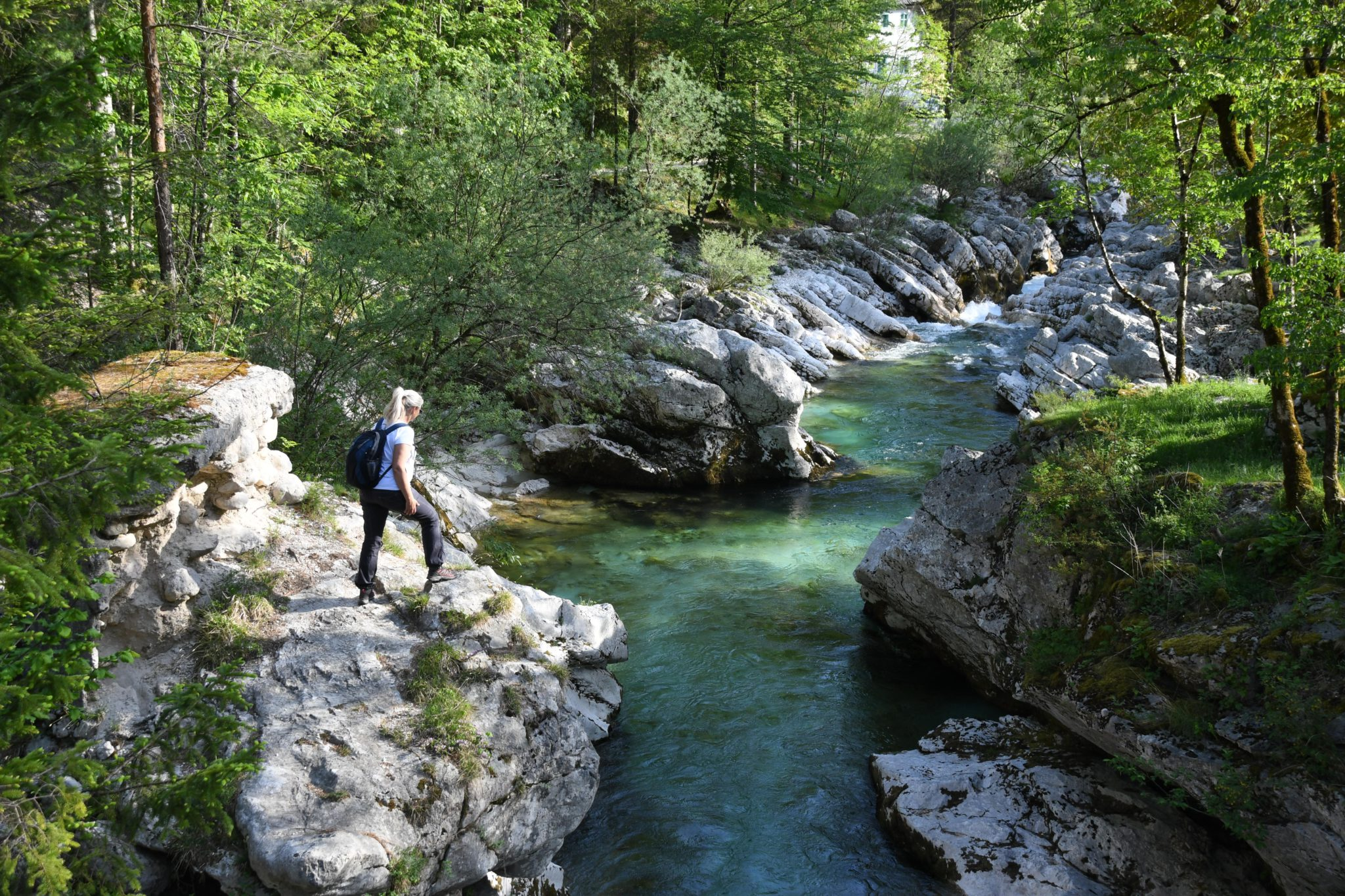 Soča and Isonzo River walks: Bovec walking holiday in Slovenia