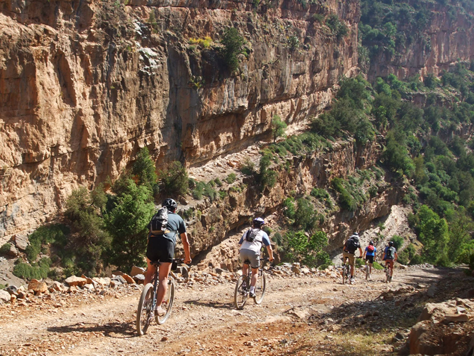 Morocco Mountain Biking tour in the Atlas Mountains