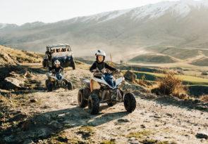 "New Zealand ""River Run"" family quad bike tour"