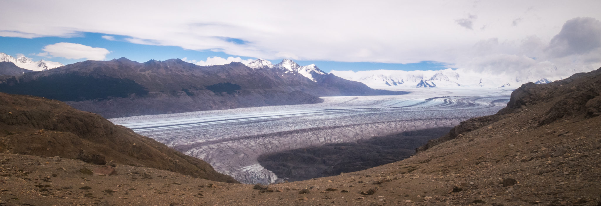Paso del Viento trekking trip to the South Patagonia Icefield