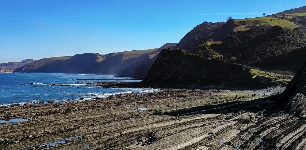 Basque Coast trail hiking day trip in Spain