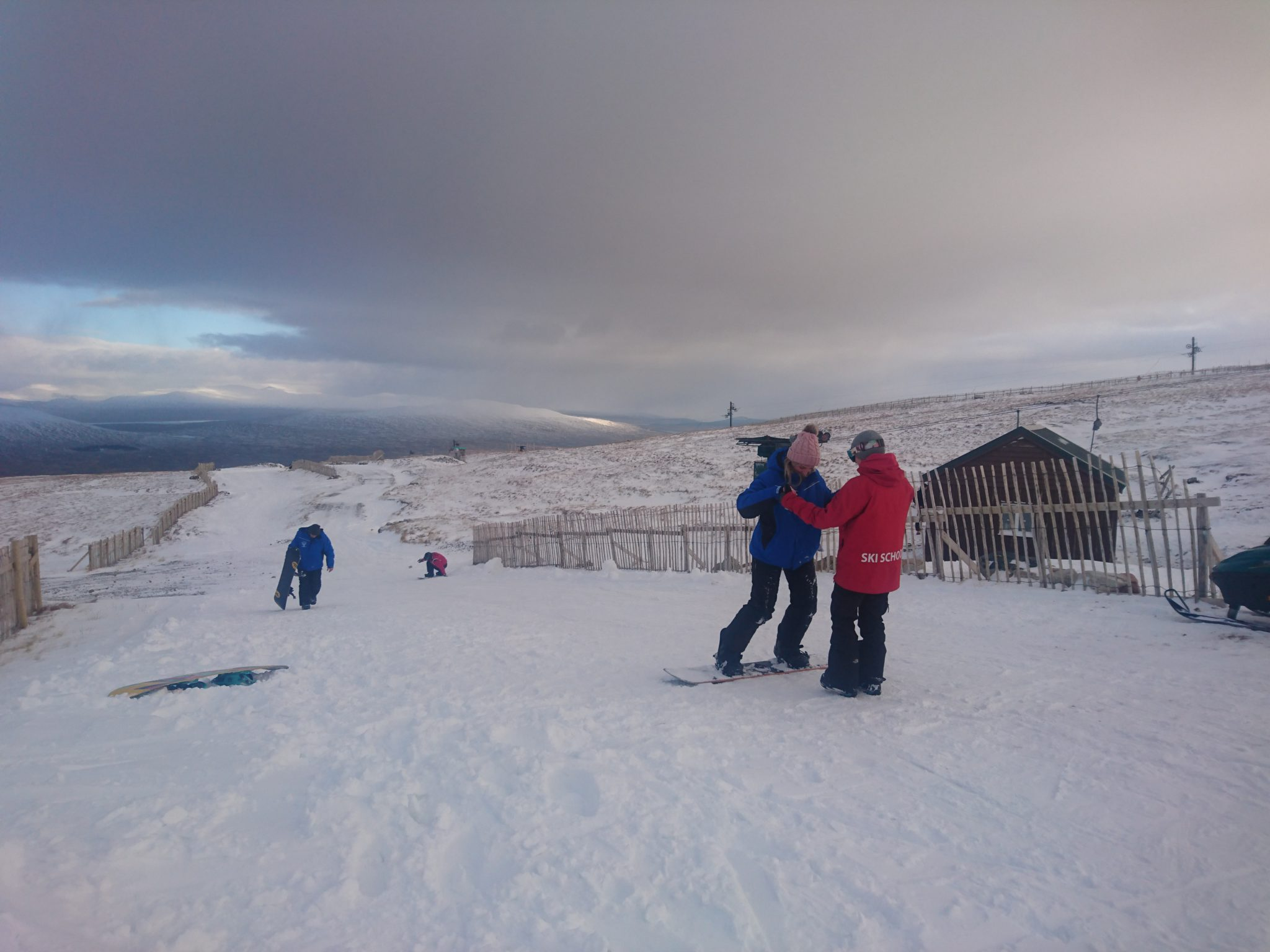 Glencoe snowboarding lessons: Learn to snowboard in Scotland