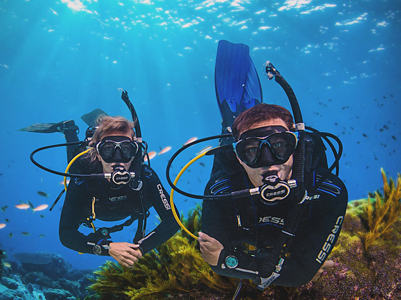 PADI open water diver course in Spain on the Costa Blanca