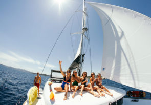 catamaran kitesurfing holiday