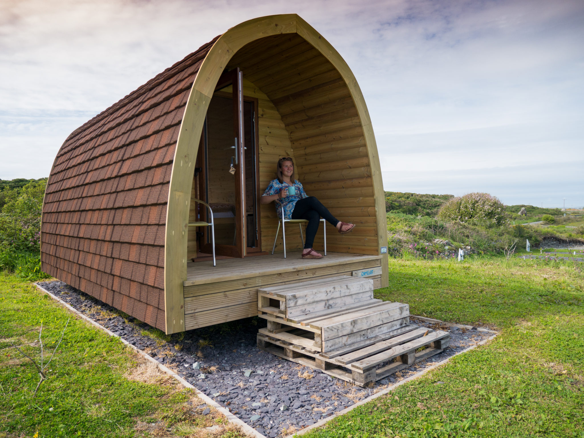 North Wales Glamping Pods in Anglesey: Camping on Holy Island