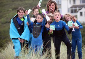 Multi activity kids club in Crantock