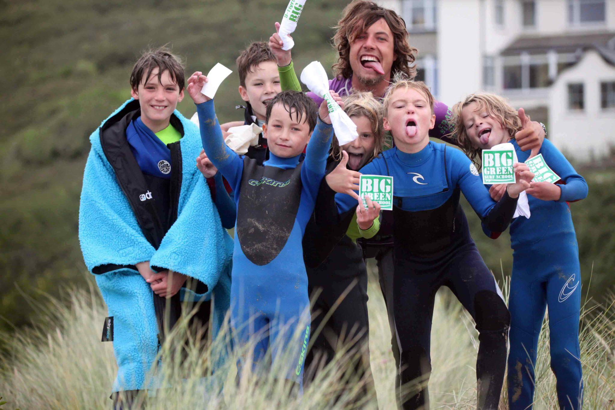 Beach Squad: Multi activity kids club in Crantock