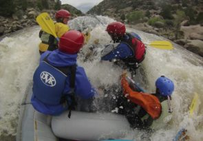 14 day professional river raft guide training in Colorado