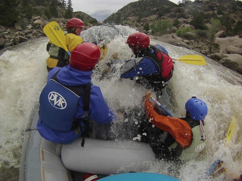 14 Day Professional River Raft Guide Training in Colorado – Non employment