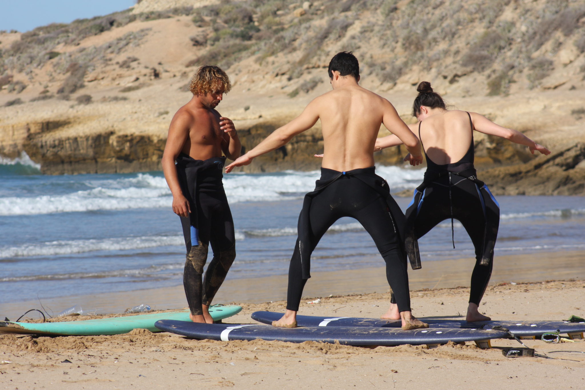 1 day Morocco surfing experience: Learn to surf in Tamraght