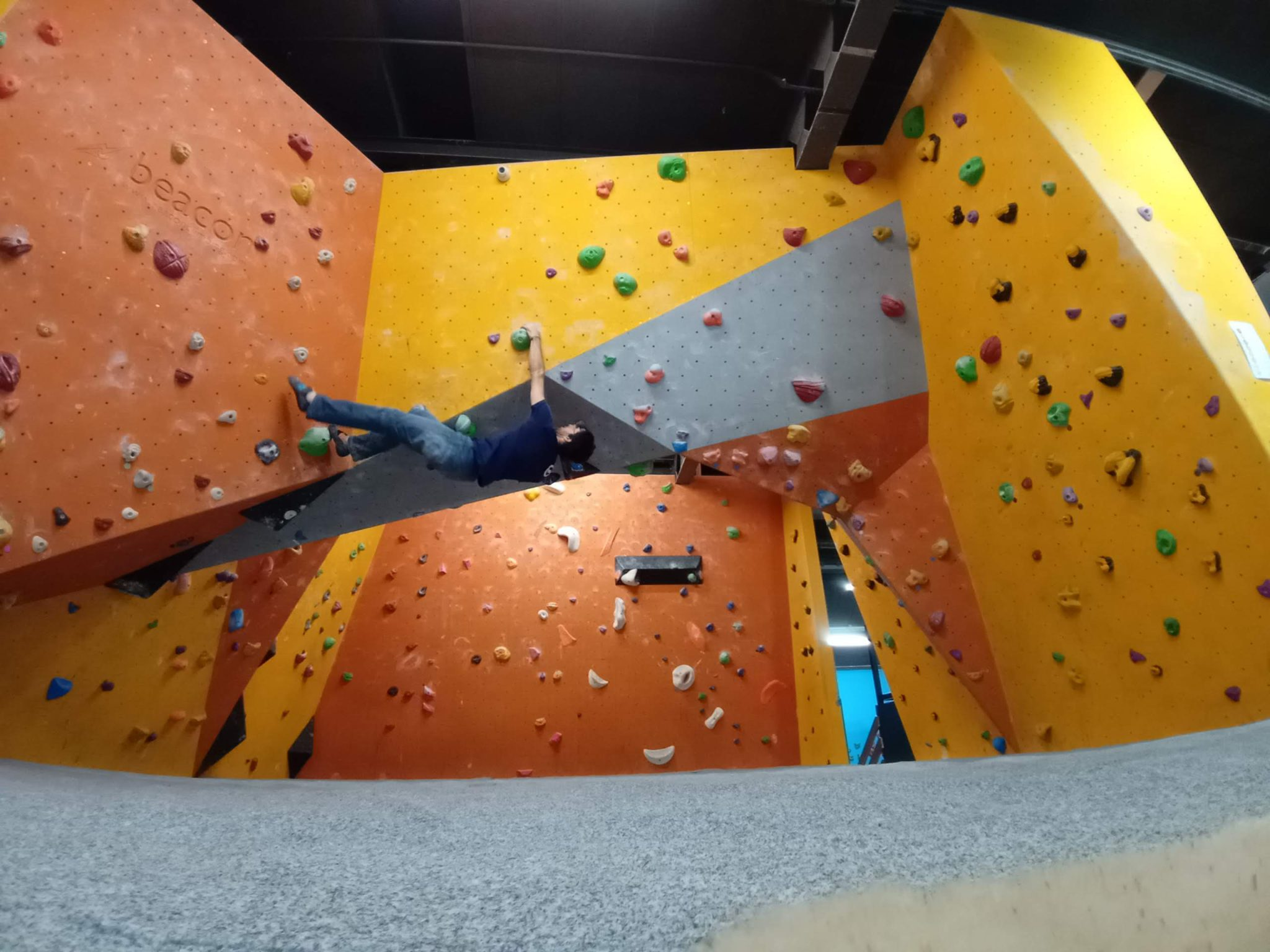 Indoor North Wales climbing performance coaching in Snowdonia