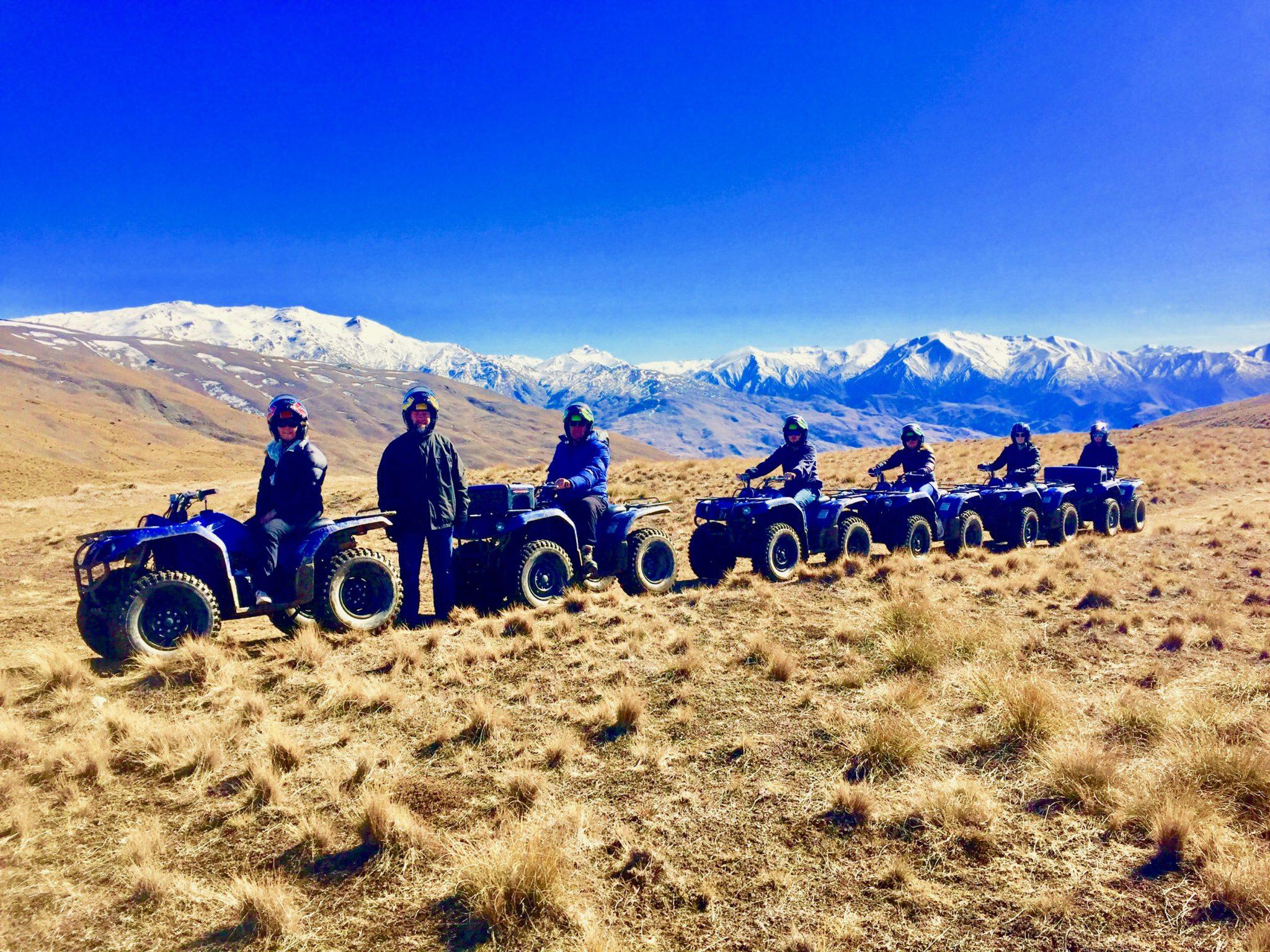 2hr Wanaka Mountain Quad Bike Tour: Quad Biking in New Zealand