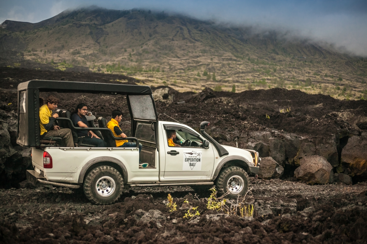 4WD Bali Volcano Trip: Morning Private Tour of Mount Batur