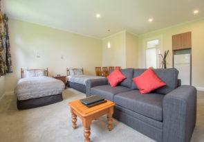 Twin Studio Apartment at Coronet Peak in New Zealand