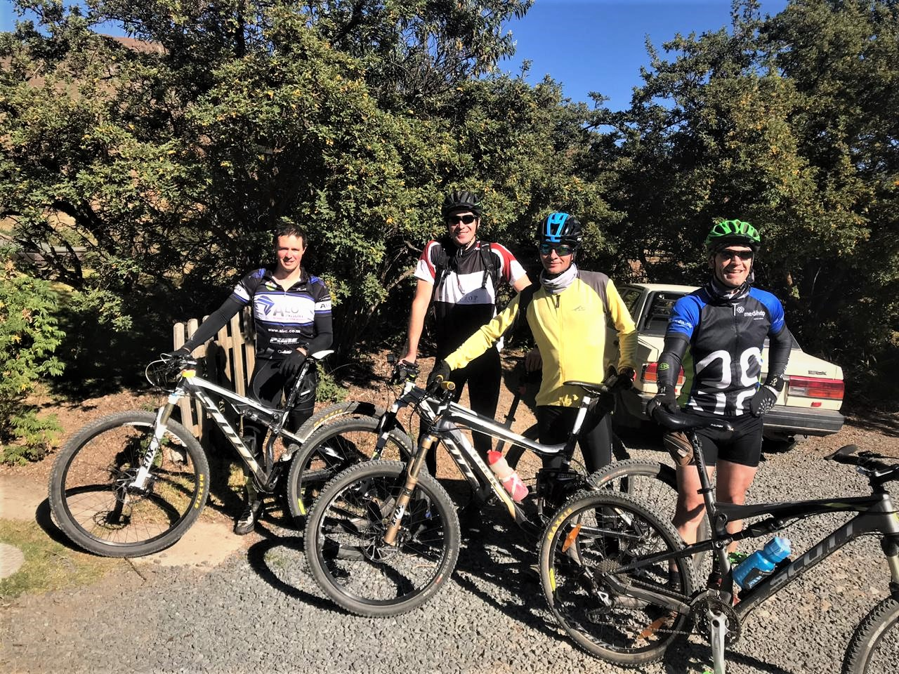 Guided Johannesburg mountain biking experience in South Africa