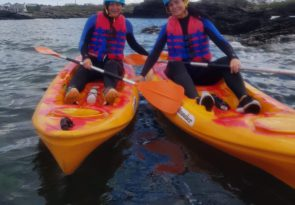 Anglesey for a kayaking experience