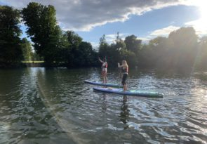 Private one to one 2-hour London paddleboard experience