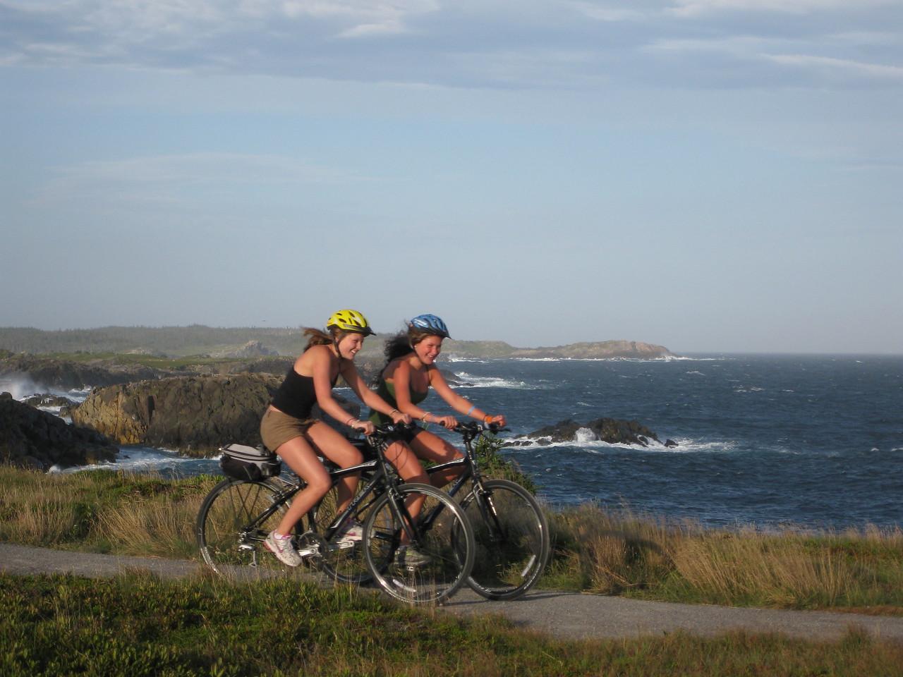 Trail Bike in Nova Scotia: Cabot Trail Biking Tour