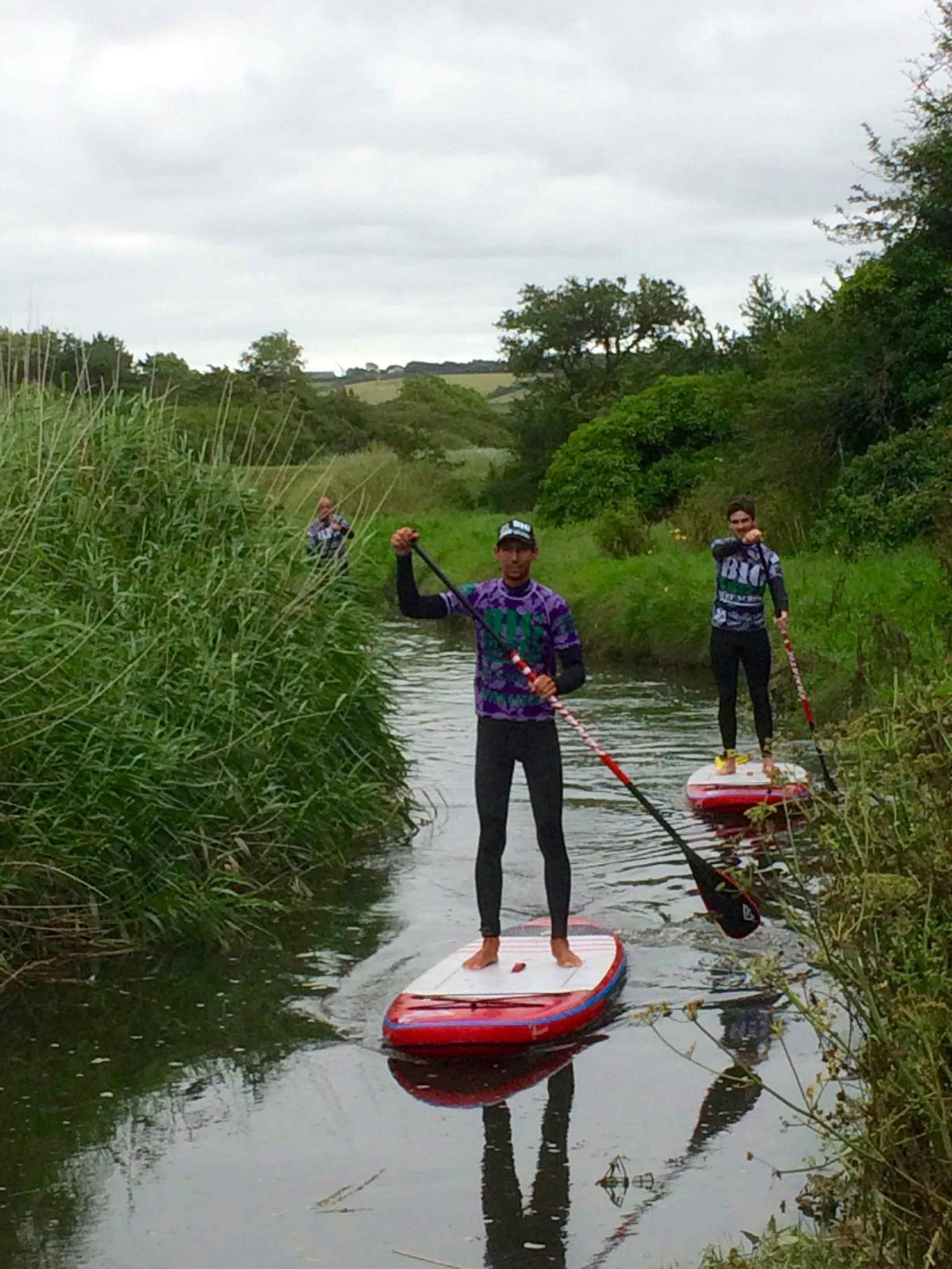 Newquay Beginner SUP Lesson (Tour) in Crantock