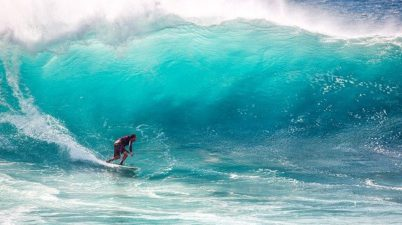 Surfing fitness tips how to train for a surf holiday Pixabay royalty free image from Ombak Tujuh, Java, Indonesia