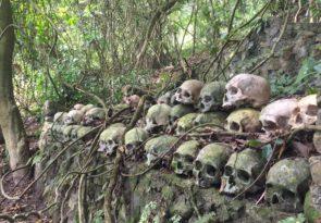 Terunyan Wall Cemetery adventure