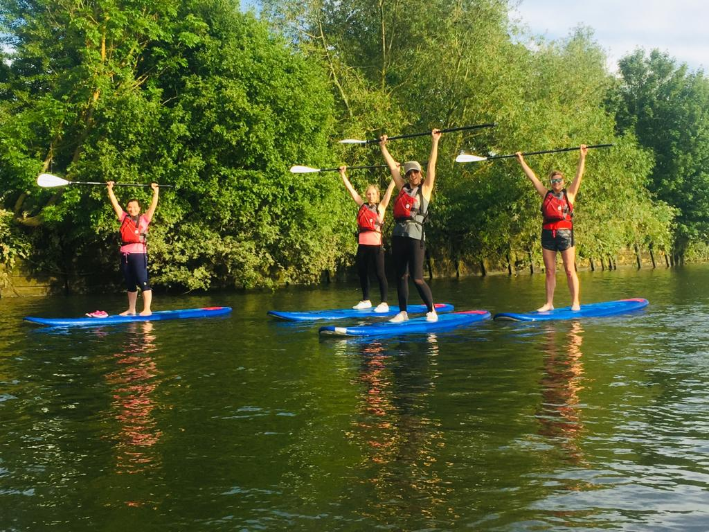 Richmond paddleboard experience: Post-Work SUP in London