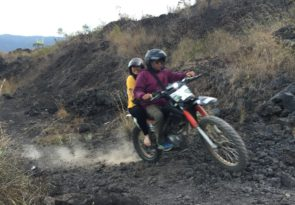 Bali trail bike adventure