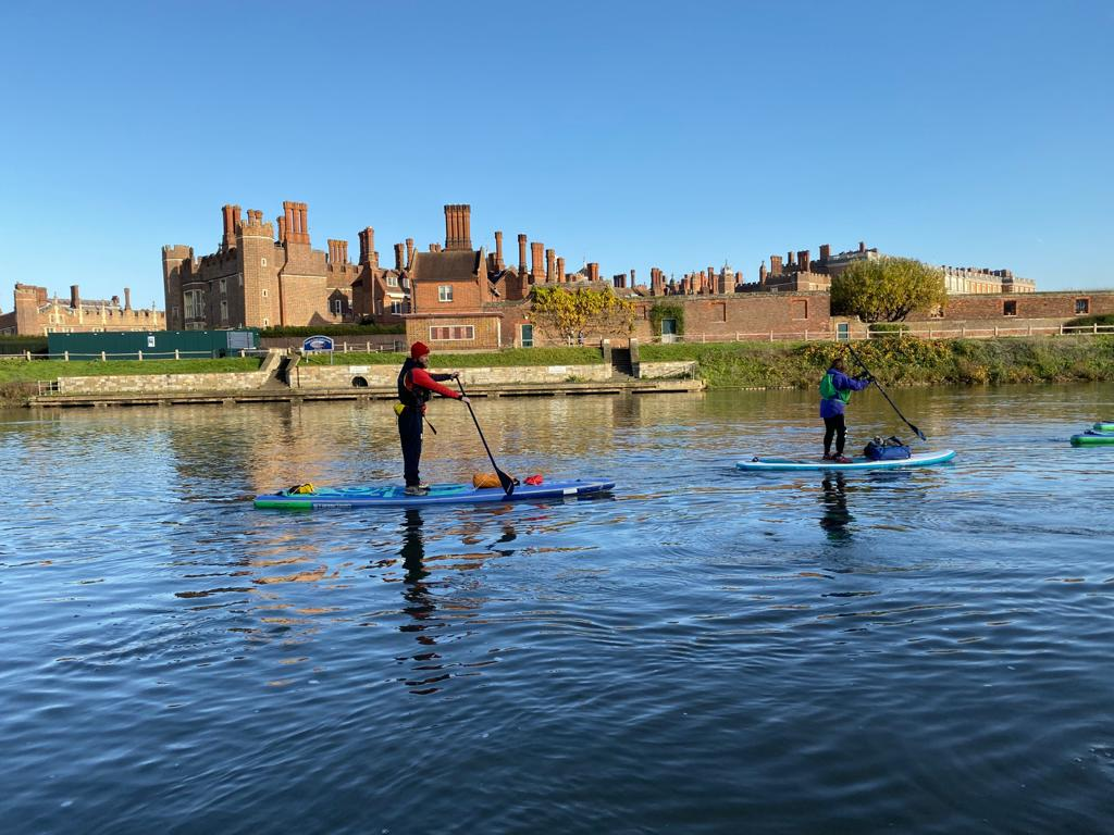 London paddleboard expedition: SUP from Hampton Court to Richmond